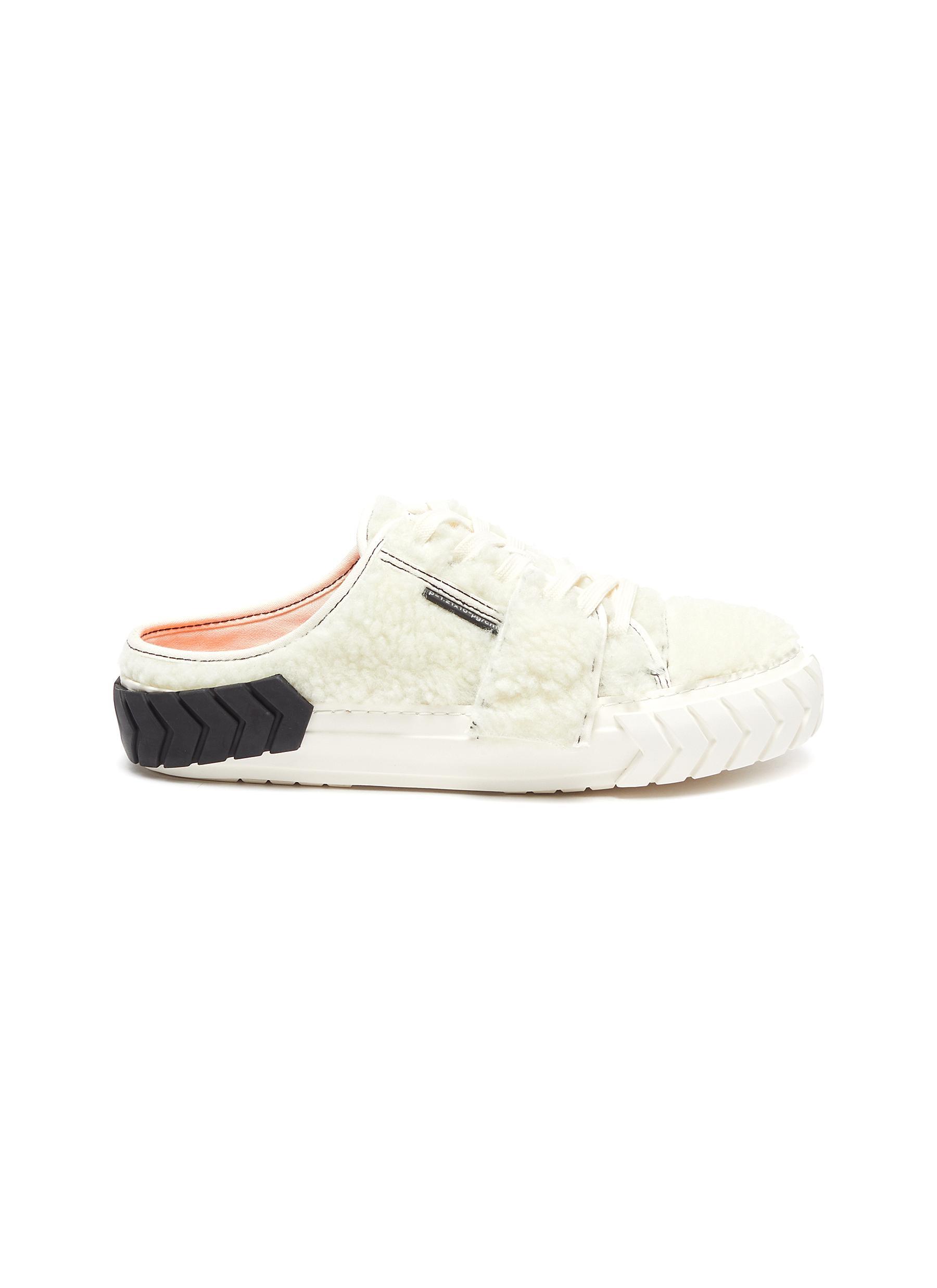 Tyres' Shearling Slip On Sneakers