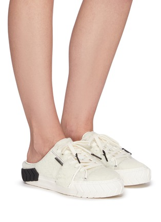 Figure View - Click To Enlarge - BOTH - Tyres' Shearling Slip On Sneakers