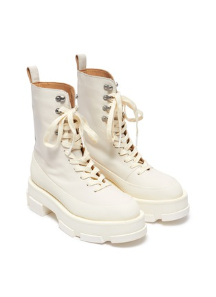 Detail View - Click To Enlarge - BOTH - Gao Combat Platform Boots