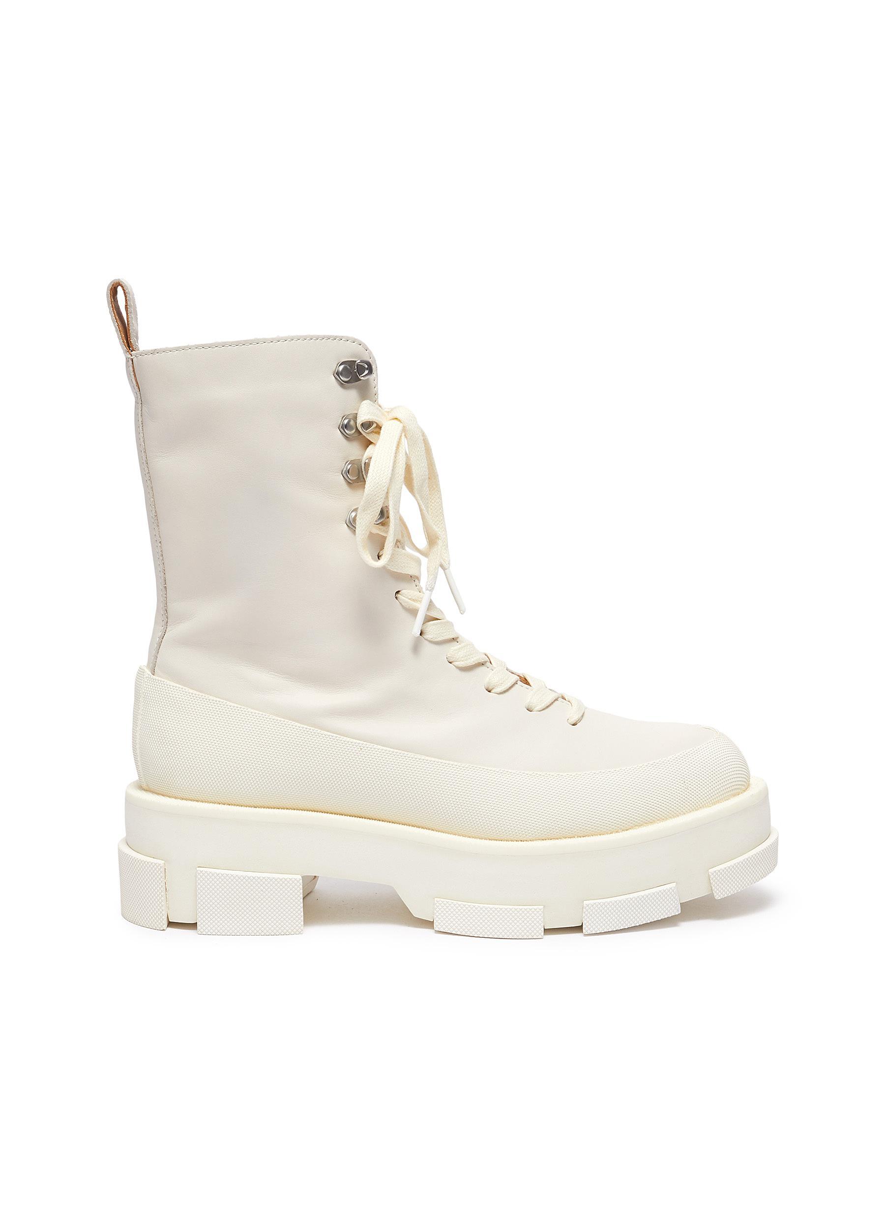 Gao Combat Platform Boots