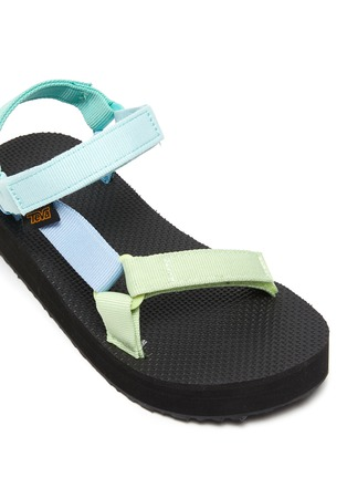 Detail View - Click To Enlarge - TEVA - Midform Universal' Pastel Velcro Strap Toddler and Kids Sandals