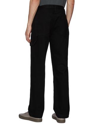 Back View - Click To Enlarge - FRAME DENIM - Side Pockets Constrasting Stitching Carpenter Pants