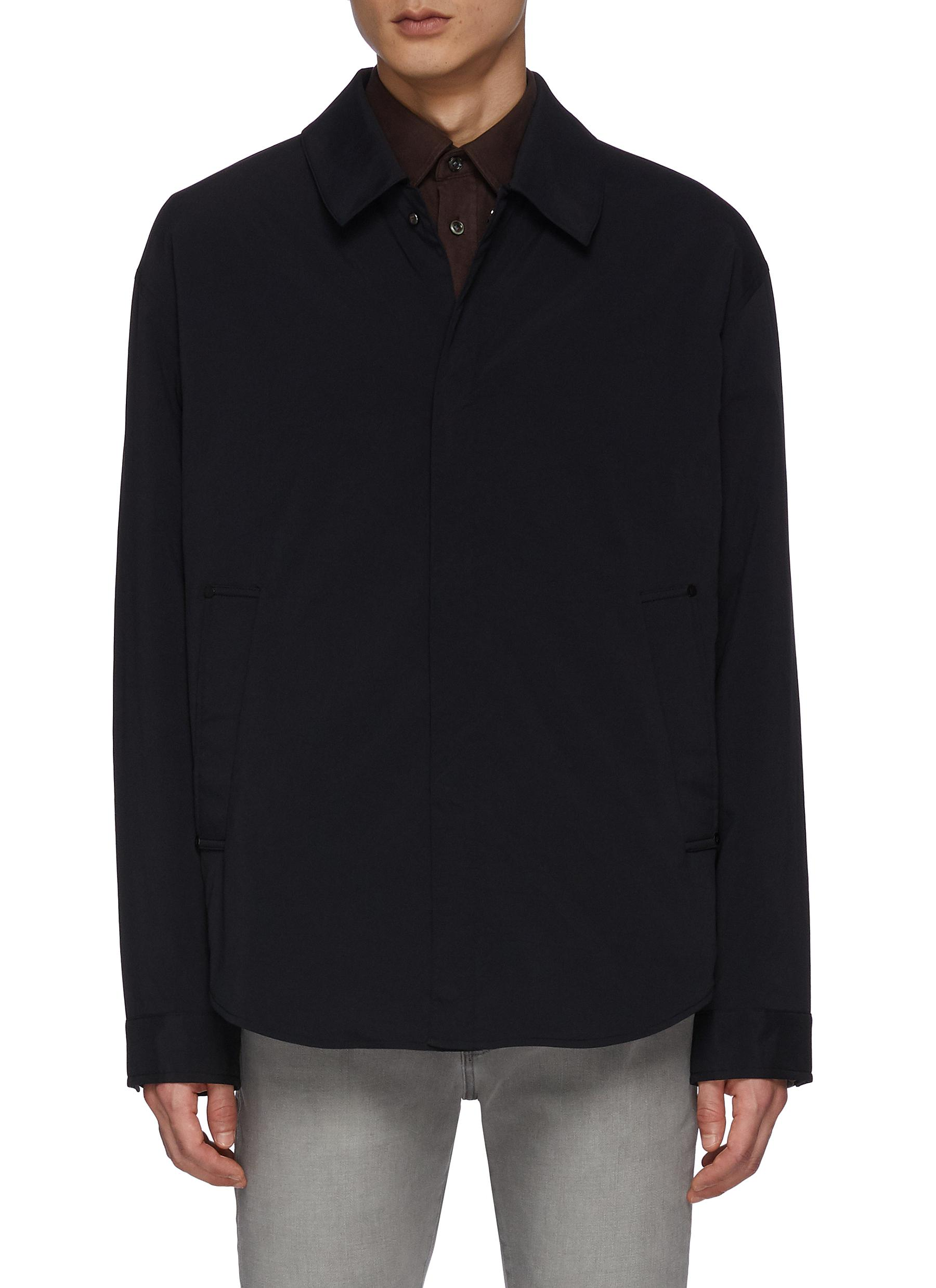 Concealed Closure Technical Overshirt