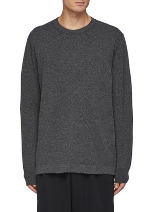 Main View - Click To Enlarge - THE ROW - Diatton' Cashmere Long Sleeved Crewneck Sweater