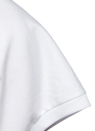 - THE ROW - Duke' Cap Sleeved Crewneck Cotton Top