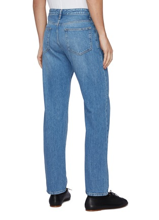 Back View - Click To Enlarge - THE ROW - Monroe' Monkey Wash Straight Leg Jeans