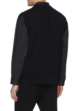 Back View - Click To Enlarge - THE ROW - Dabrino' V Neck Cashmere Vest