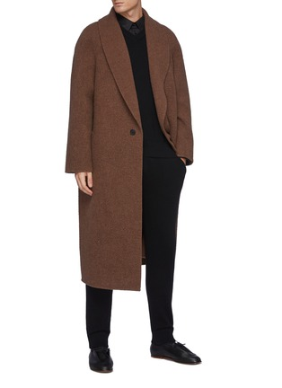 Figure View - Click To Enlarge - THE ROW - Dabrino' V Neck Cashmere Vest