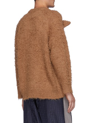 Back View - Click To Enlarge - DOUBLET - Animal Embroidery Alpaca Pullover