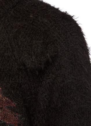- DOUBLET - Animal Embroidey Alpaca Pullover