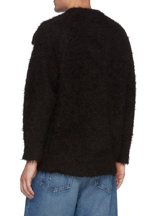 Back View - Click To Enlarge - DOUBLET - Animal Embroidey Alpaca Pullover