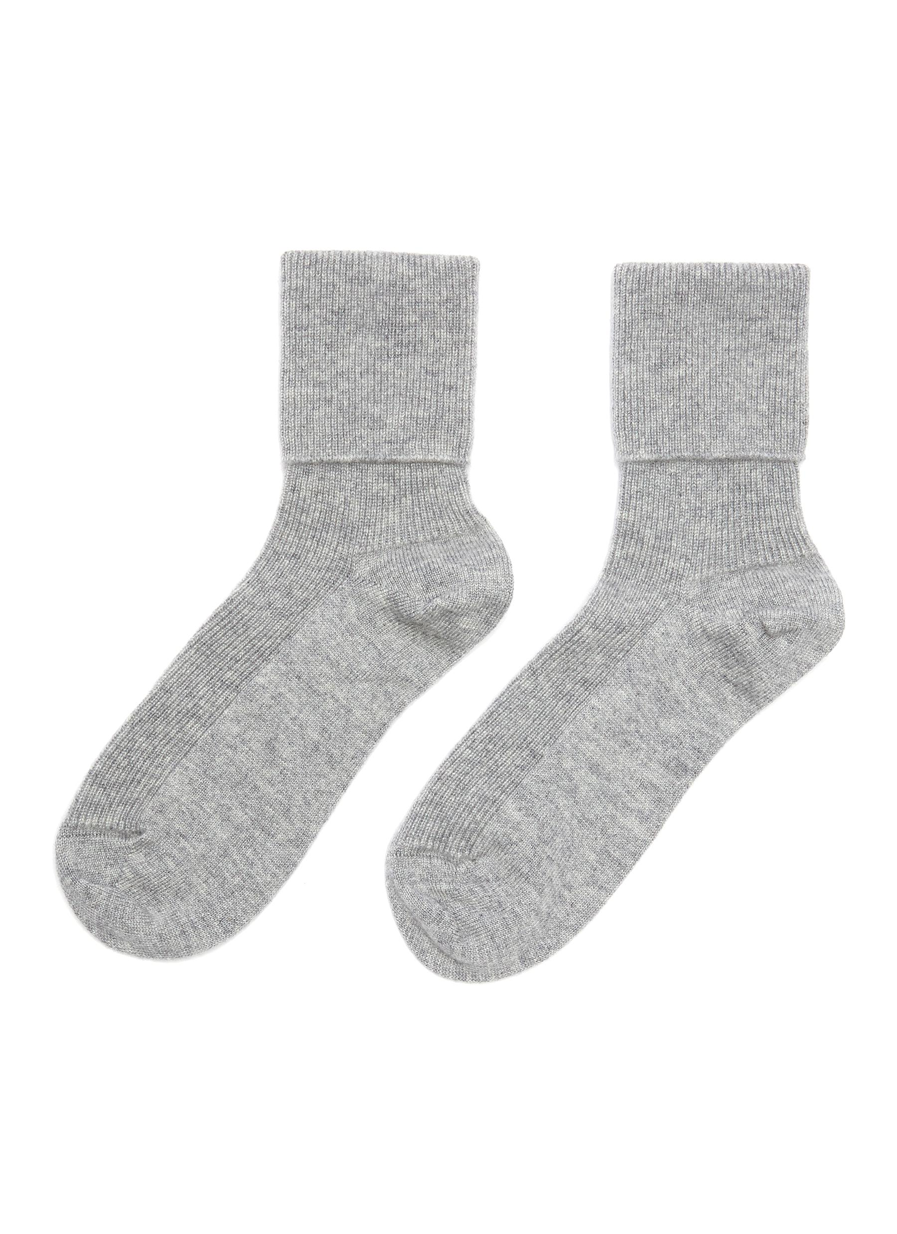 Ribbed Ankle Socks