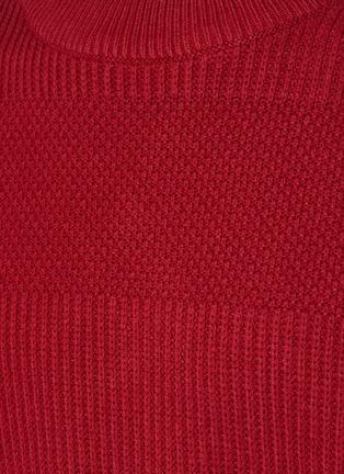 - DENHAM - Coldane Knitted Stripe Sweater