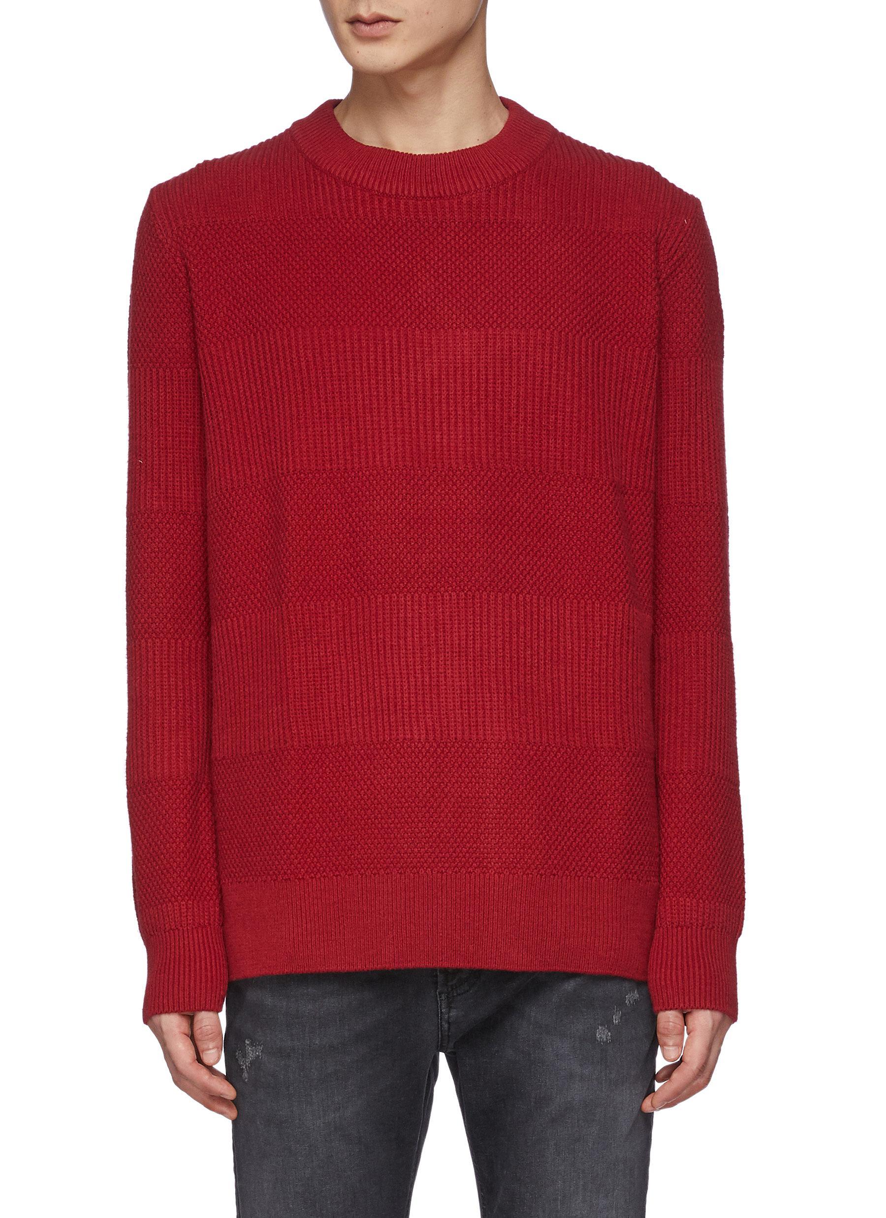 Coldane Knitted Stripe Sweater