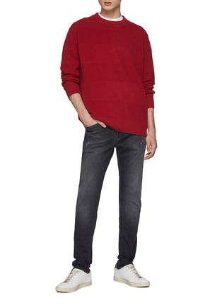 Figure View - Click To Enlarge - DENHAM - Coldane Knitted Stripe Sweater