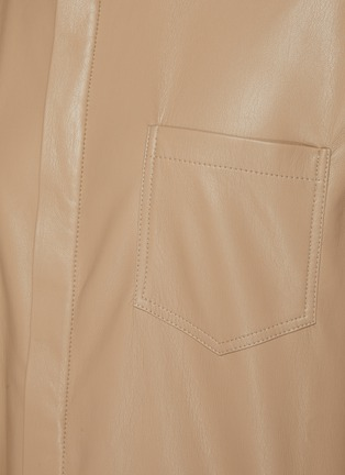 - NANUSHKA - Vegan leather shirt