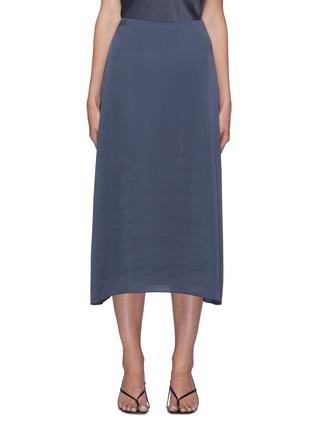 Main View - Click To Enlarge - VINCE - Satin Slip Midi Skirt