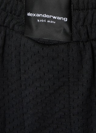- ALEXANDERWANG - Logo Tag Elastic Waist Boxer Shorts