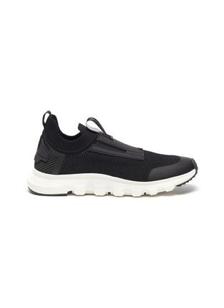 Main View - Click To Enlarge - ERMENEGILDO ZEGNA - Techmerino Sock 2.0' Knitted Low-top Sneakers