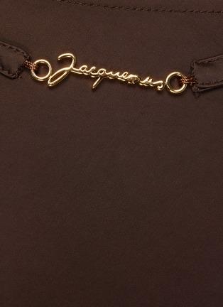- JACQUEMUS - La Jupe Notte' Chain Detail Pencil Skirt