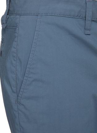 - RAG & BONE - 'Paperweight' back contrast stitch detail chino shorts