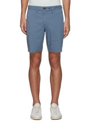 Main View - Click To Enlarge - RAG & BONE - 'Paperweight' back contrast stitch detail chino shorts
