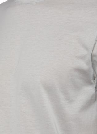 - THEORY - 'Precise' crewneck luxe cotton T-shirt