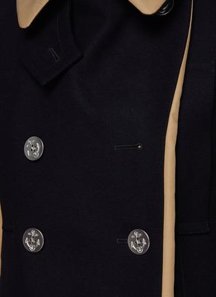 - SACAI - Reversible Cotton Blend Trench Coat