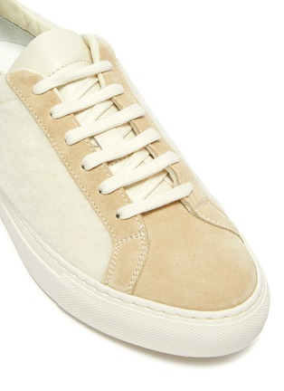 Detail View - Click To Enlarge - COMMON PROJECTS - Retro Wool Lace Up Sneaker