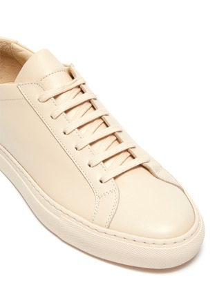 Detail View - Click To Enlarge - COMMON PROJECTS - Original Achilles Lace Up Sneaker