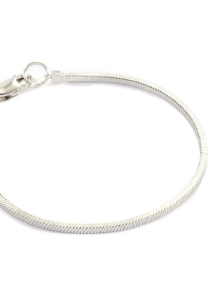 Detail View - Click To Enlarge - MISSOMA - Lucy Williams' Square Snake Chain Sterling Silver Bracelet
