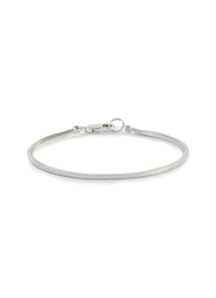 Main View - Click To Enlarge - MISSOMA - Lucy Williams' Square Snake Chain Sterling Silver Bracelet