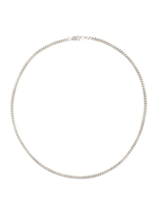 Main View - Click To Enlarge - MISSOMA - Round Curb Chain Sterling Silver Necklace