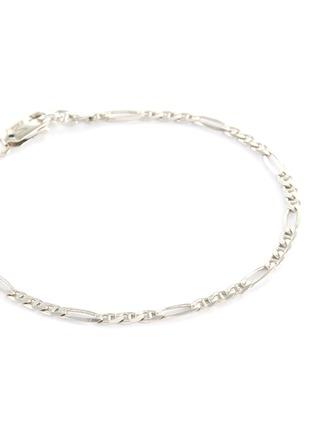 Detail View - Click To Enlarge - MISSOMA - 'Filia' Flat Chain Link Sterling Silver Bracelet