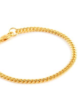 Detail View - Click To Enlarge - MISSOMA - 18k Gold Vermeil Round Curb Chain Bracelet