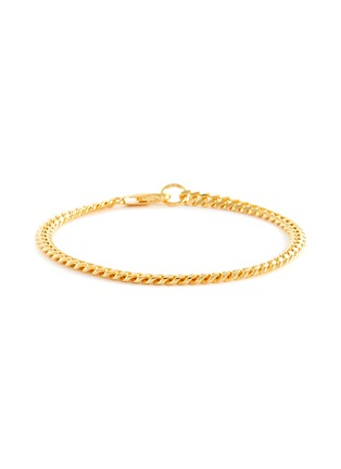 Main View - Click To Enlarge - MISSOMA - 18k Gold Vermeil Round Curb Chain Bracelet