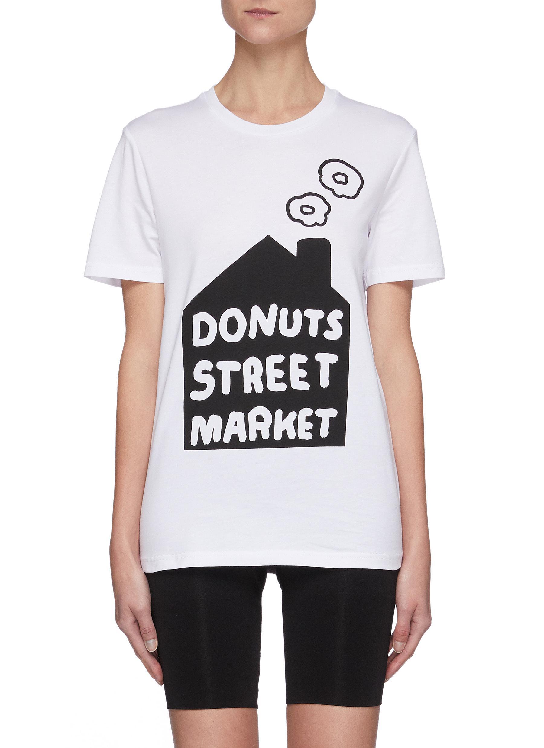 Donuts Street Market Tee