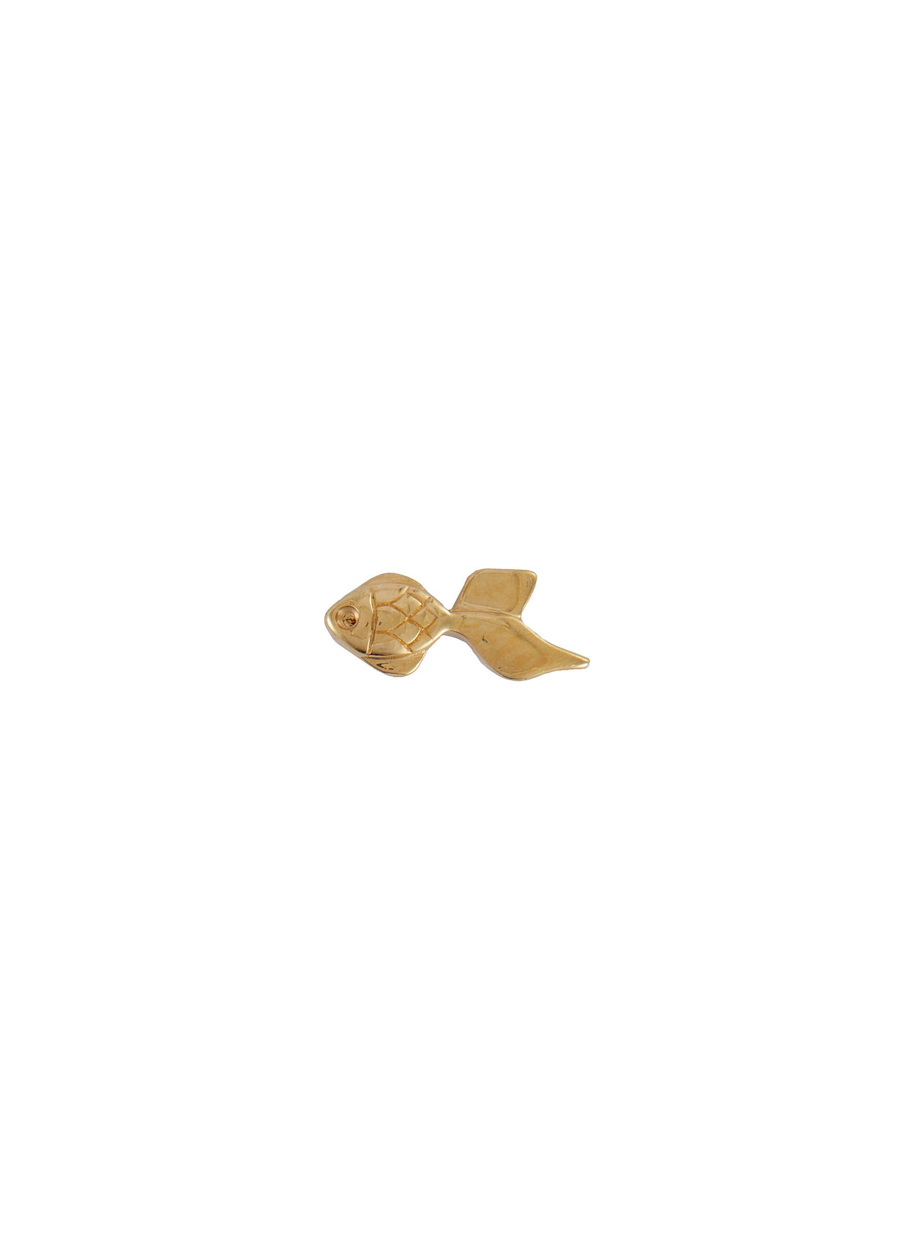 'Goldfish' 18k Gold Charm