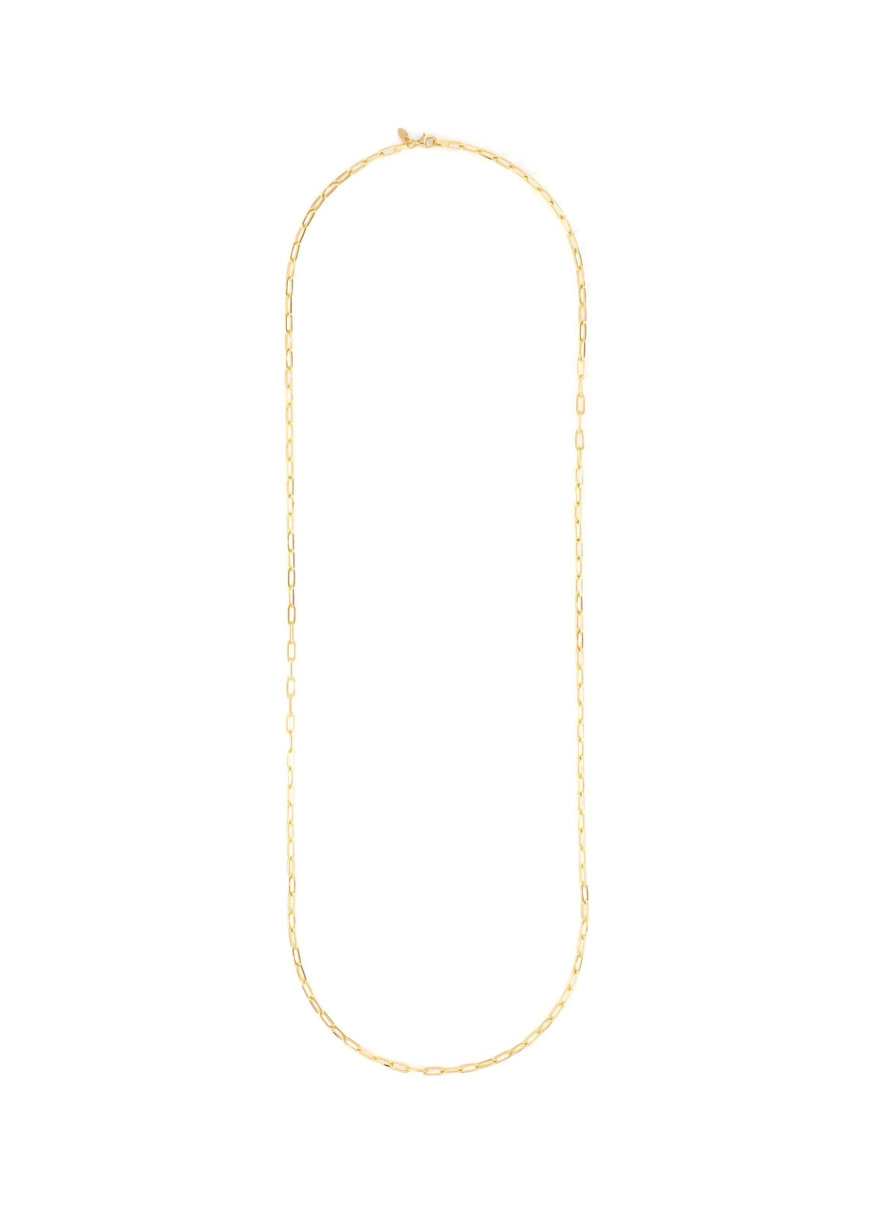 14k Gold Link Chain Necklace