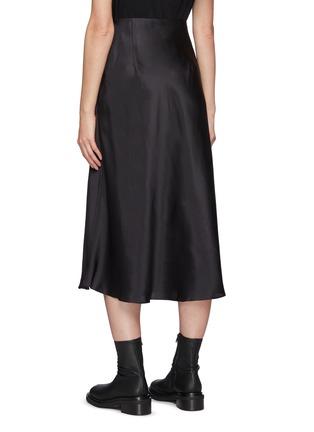 Back View - Click To Enlarge - LE KASHA - Aksou' Flared Silk Midi Skirt