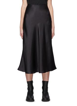 Main View - Click To Enlarge - LE KASHA - Aksou' Flared Silk Midi Skirt