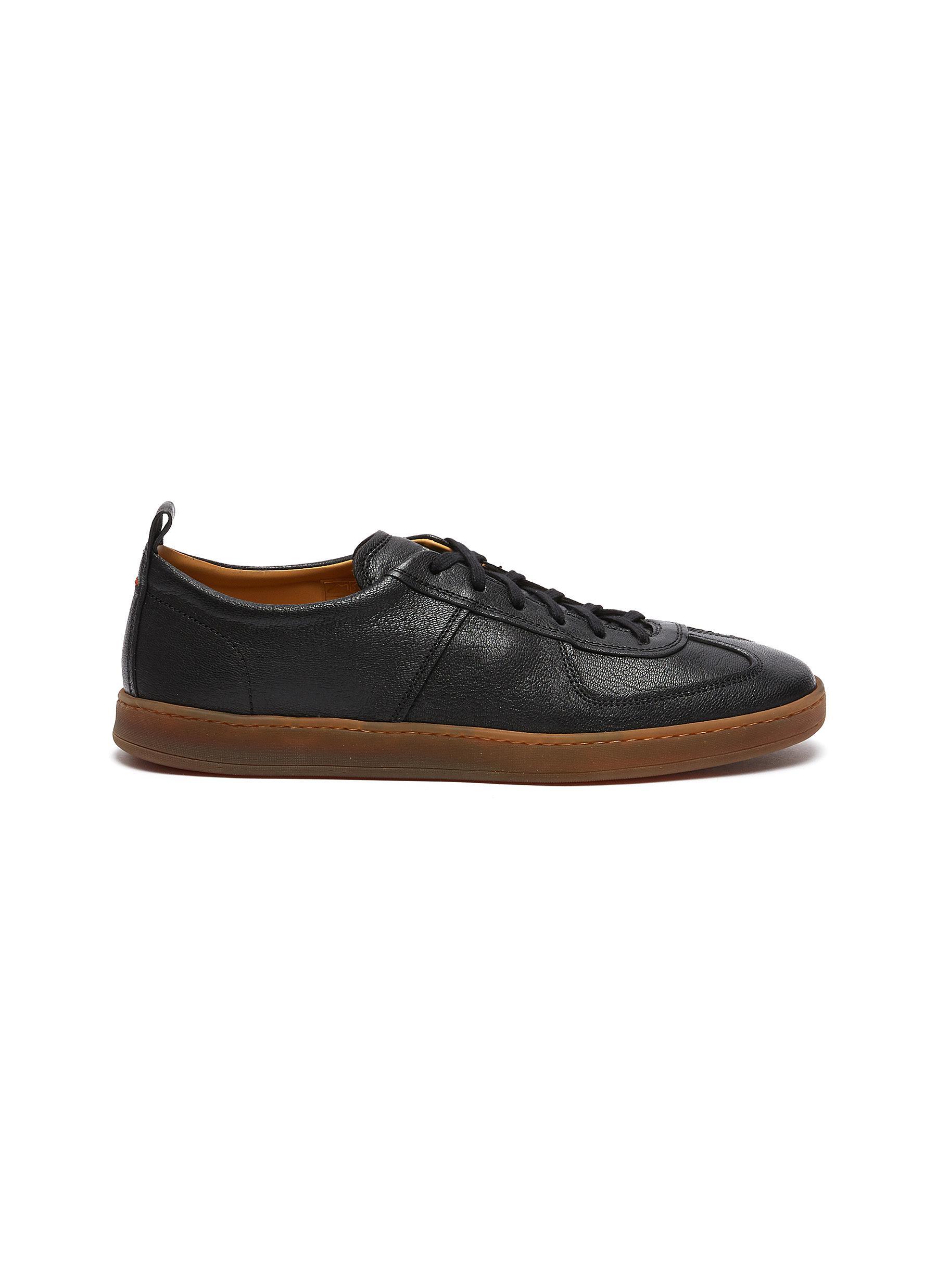 'Benoit' Deerskin Sneakers