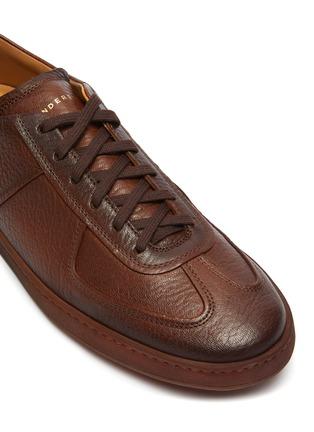 Detail View - Click To Enlarge - HENDERSON - 'Benoit' Deerskin Sneakers