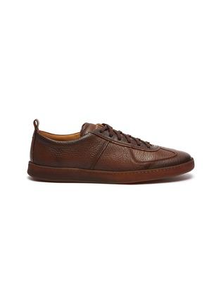Main View - Click To Enlarge - HENDERSON - 'Benoit' Deerskin Sneakers