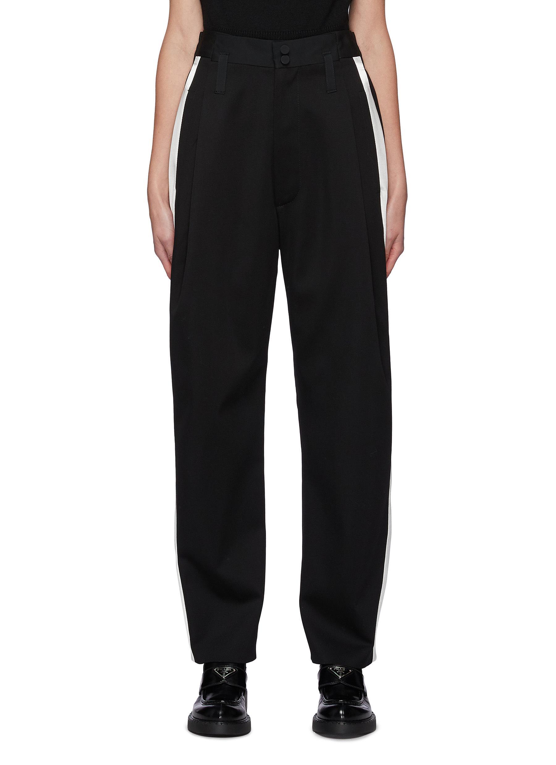 Side Strip Virgin Wool Tuxedo Pants