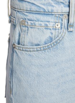 - RAG & BONE/JEAN - Maya' Frayed Hem Crop Denim Jeans