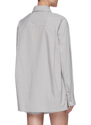 Back View - Click To Enlarge - THE FRANKIE SHOP - Lui' Organic Cotton Shirt