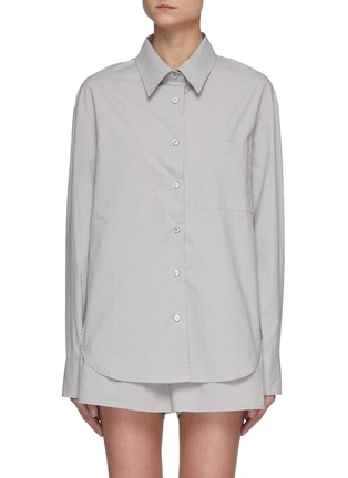 Main View - Click To Enlarge - THE FRANKIE SHOP - Lui' Organic Cotton Shirt