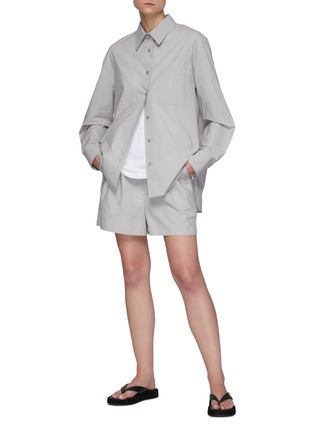 Figure View - Click To Enlarge - THE FRANKIE SHOP - Lui' Organic Cotton Shirt