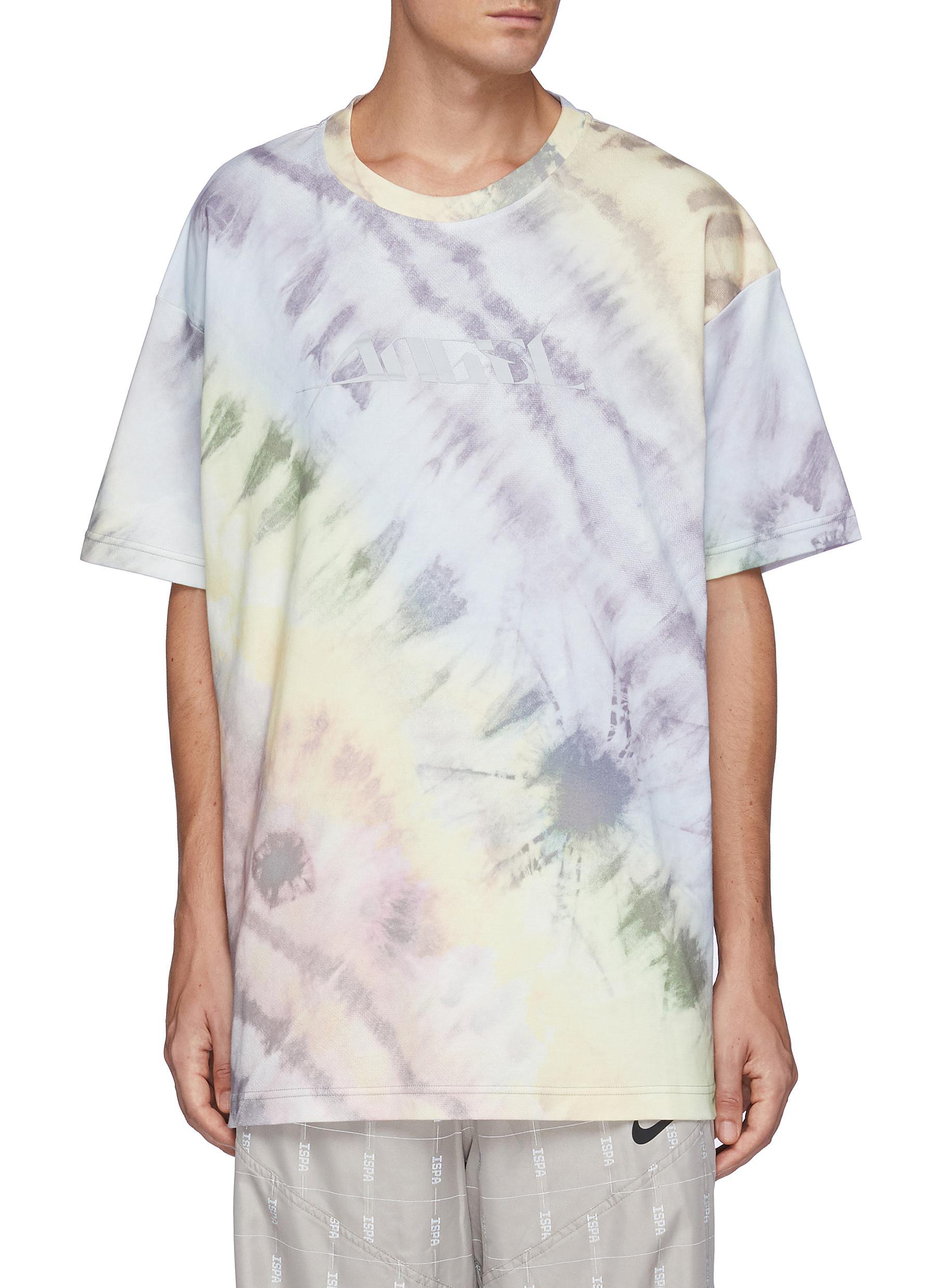 Tie-Bleach Oversized T- Shirt